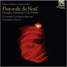 Pastorale Noël Charpentier Ensemble Correspondances