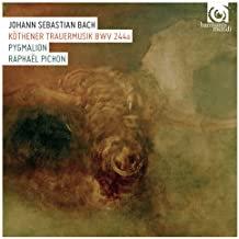 Ensemble Pygmalion Raphaël Pichon Bach Trauermusik