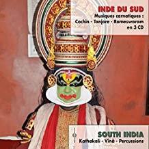 Inde du Sud Musiques Carnatiques 3 CD