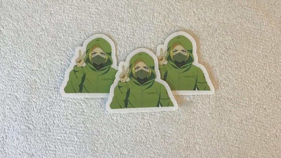 Knight Ninja Sticker
