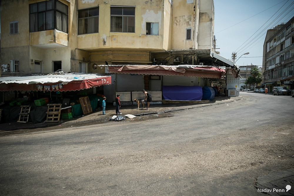השוק המרכזי בחיפה