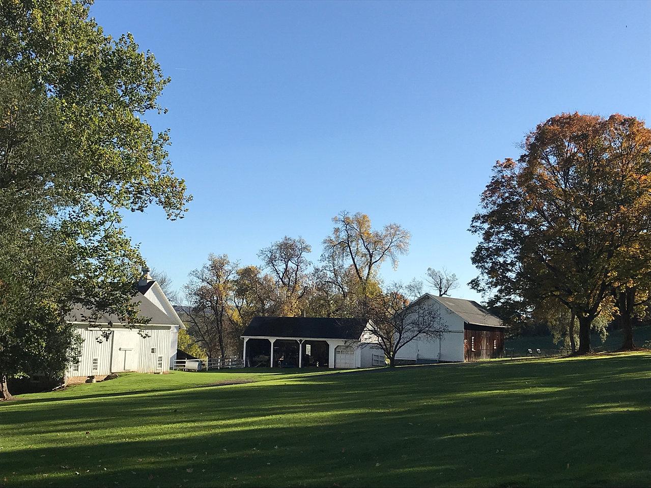 At Hamilton College And Near Colgate University Main House Harding Farm Side Lawn