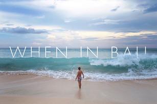 #TravelStyle Bali