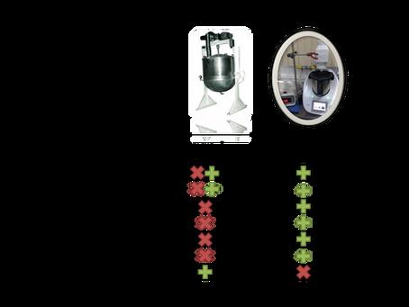 Evaporador multi-monitorado