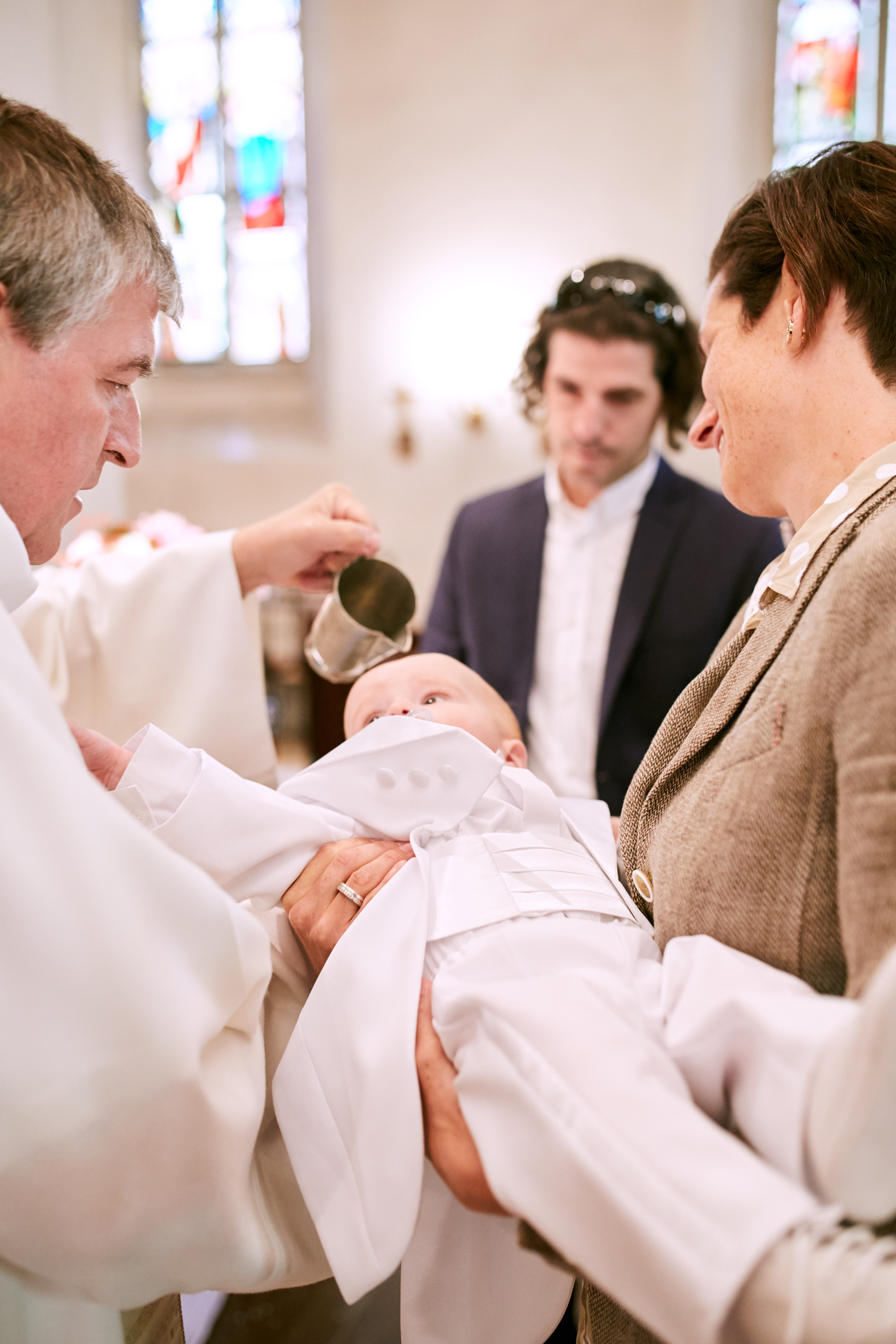 Taufe Vincent Kirche Sievering Wien