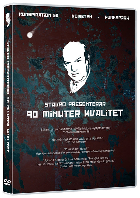 90 minuter kvalitet - DVD