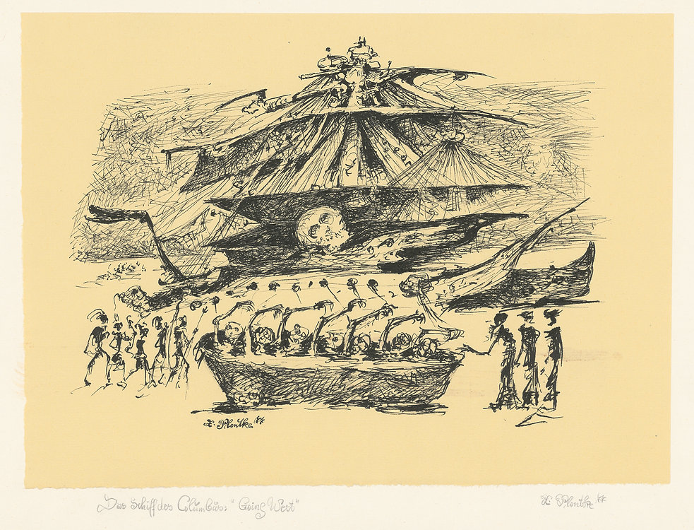 Das Schiff des Columbus: Going West