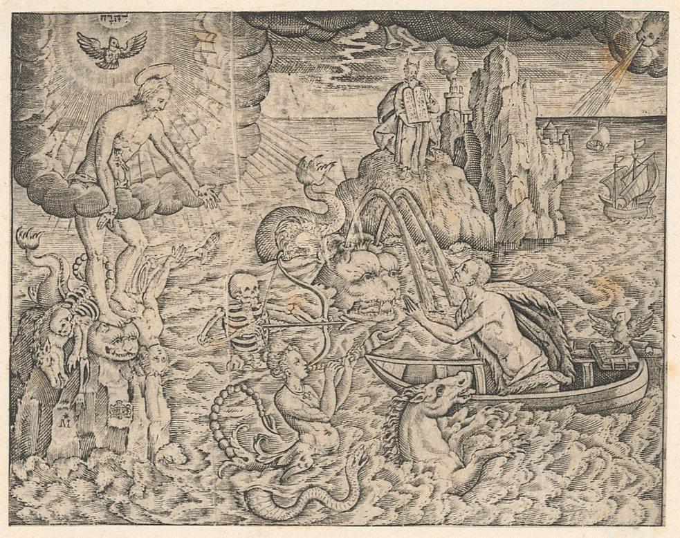 Allegorie auf den Tod und die Erlösung