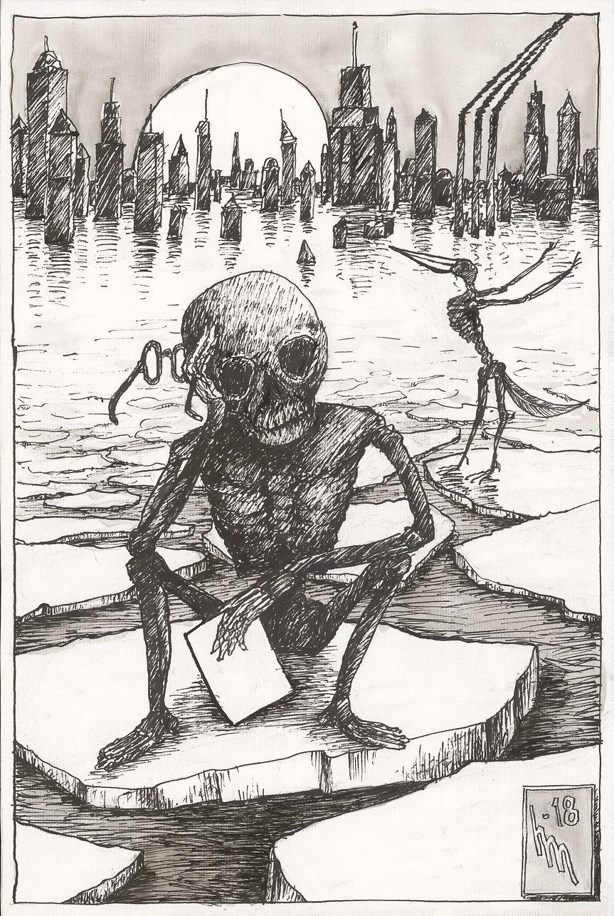Der erschöpfte Tod