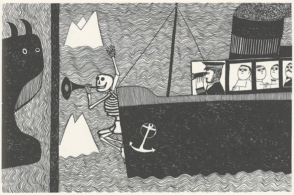 Die Seefahrer und der Tod