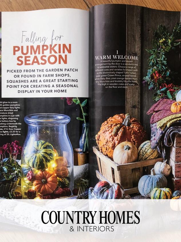 Pumpkins - Country Homes & Interiors
