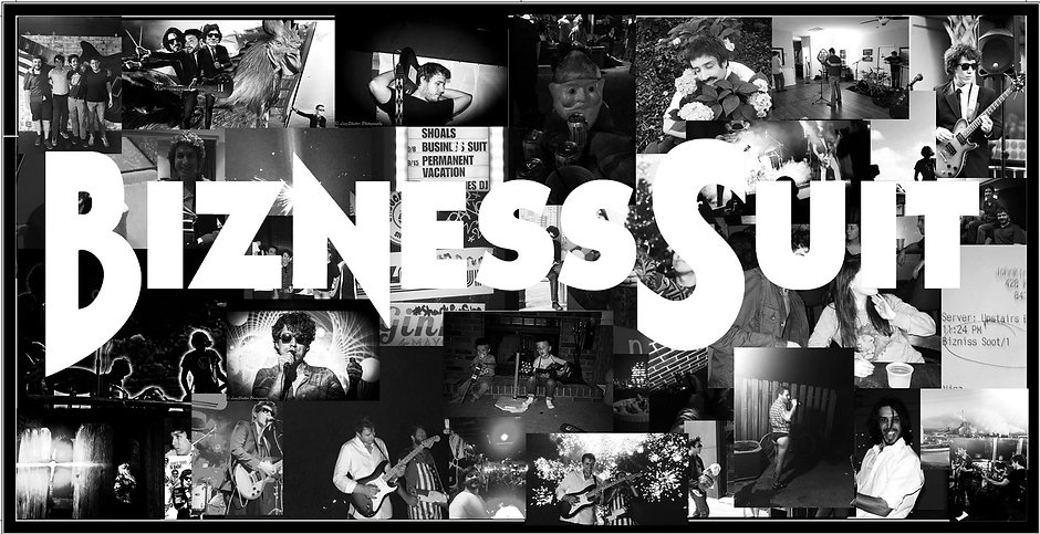 Bizness Suit collage of memories