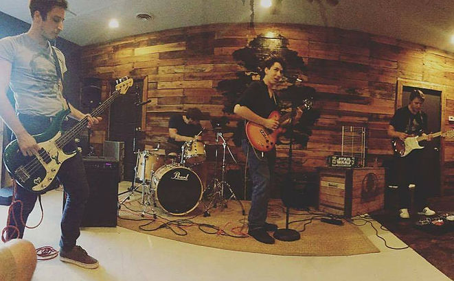 Bizness Suit playing at Twisted Cypress Brewery