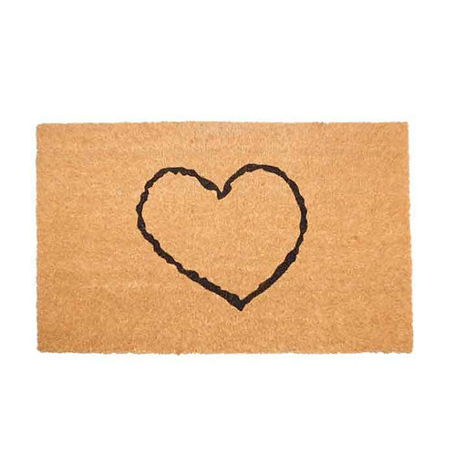 Heart drawing שטיח כניסה