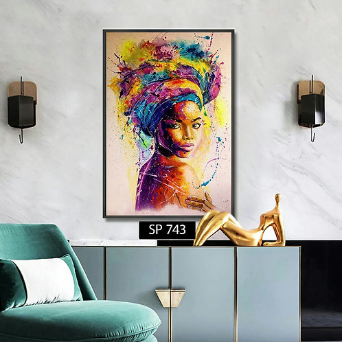 African color wash