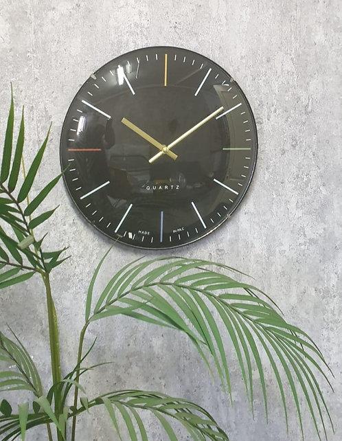 שעון רומא שחור