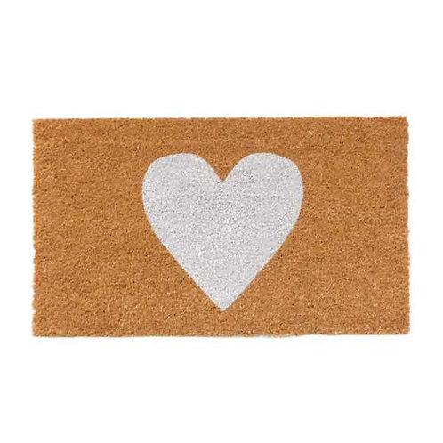 White heart שטיח כניסה