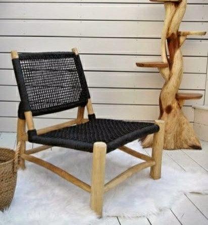 כורסא טיק אליס שחורה