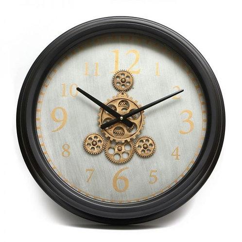 שעון קיר מנגנון זהב