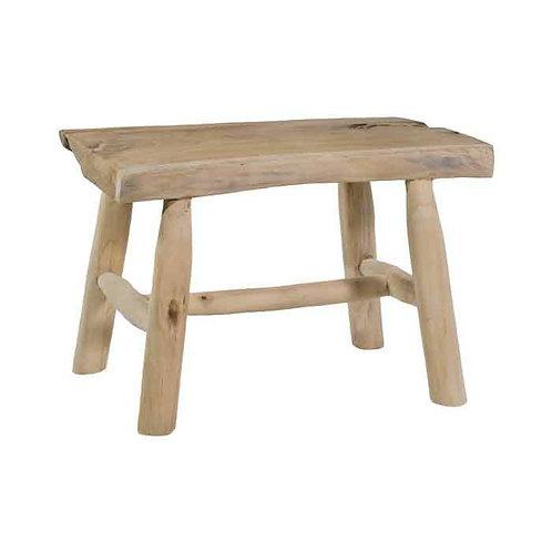 ספסל מיני עץ טיק נטורה