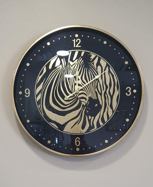 שעון קיר זברה