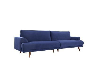 ספה ברונו כחולה