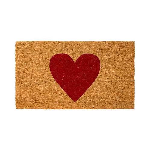 Red heart שטיח כניסה