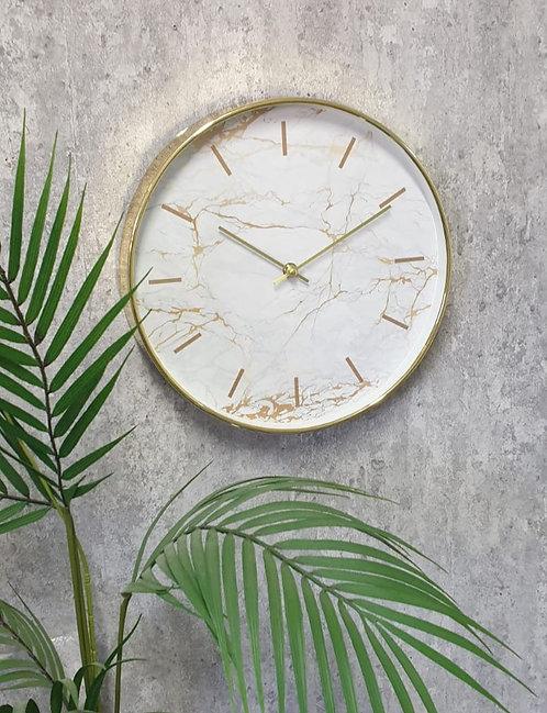 שעון פירנצה שיש זהב