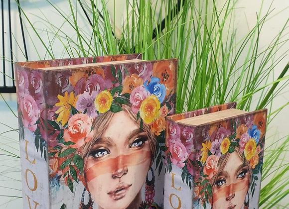 ספר קופסא מלכת הפרחים