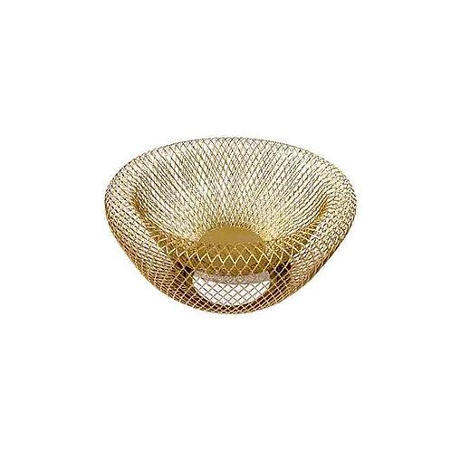 סלסלת מתכת טיימלס זהב כפולה