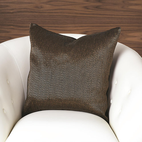 Bronze Bugle Beaded Pillow by Global Views