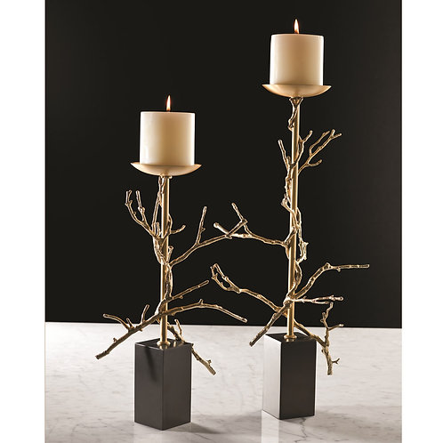 Twig Element Candleholder by Global Views