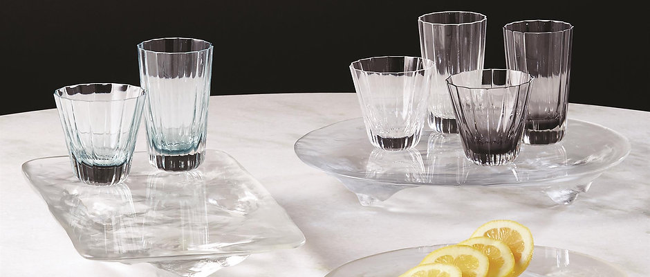 Fluted Glass by Global Views