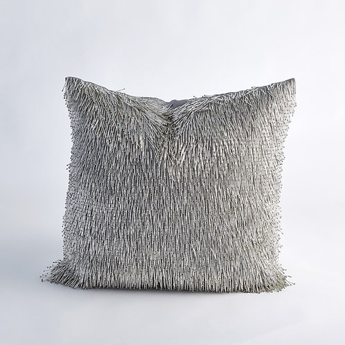 Shimmy Fringe Pillow by Global Views