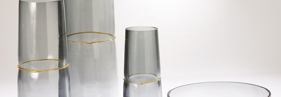 Ribbon Wrapped Vase & Bowl Collection by Global Views
