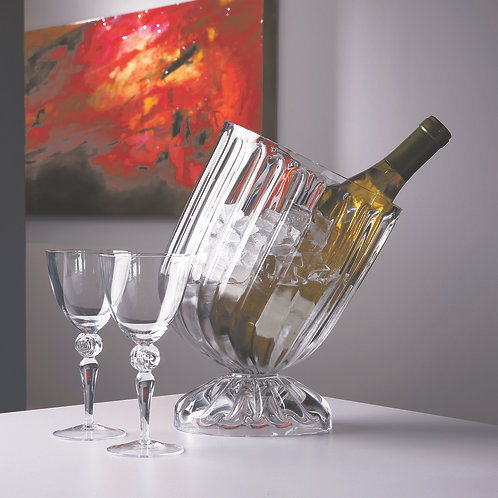 Optic Slanted Wine Chiller by Global Views