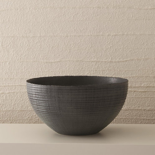 Horizontal Trowel Bowl by Global Views