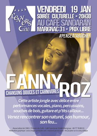 1er Concert de l'année au Café Sandaran à Marignac (31)