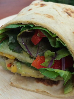 Chipotle Chicken Salad Wrap (2)