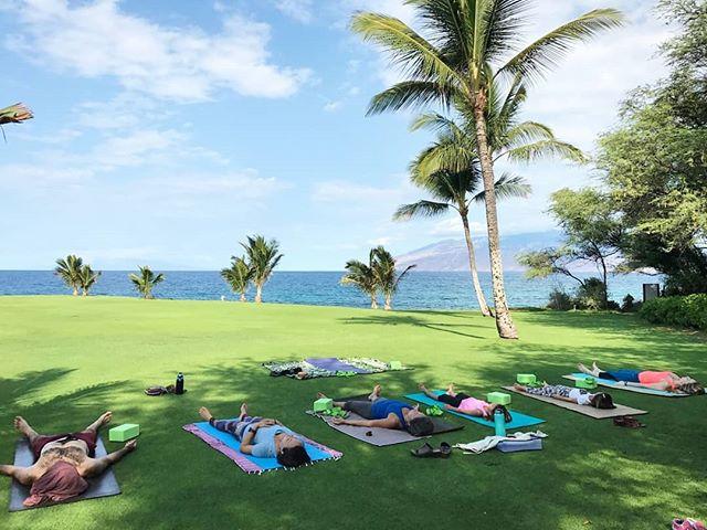 Beach Front Yoga