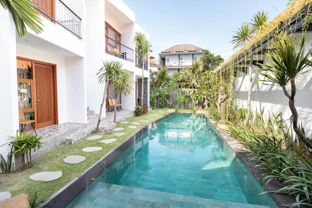 Private swimming pool.