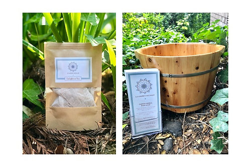 Tibetan Herbal Foot Soak & Enlighten Tea Bundle