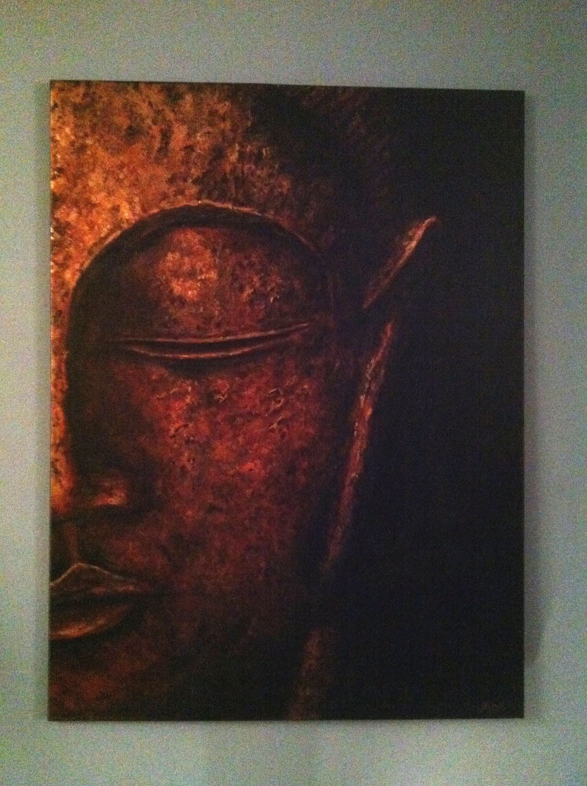 Copper Buddha (