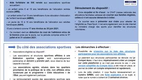 Dispositif Pass'Sport