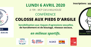 SOIRÉE COLOSSE AUX PIEDS D'ARGILE