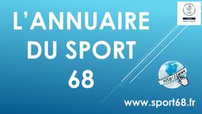 LANCEMENT DE L'ANNUAIRE DU SPORT 68 !