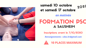 FORMATION PSC1 - 7H pour sauver une vie !