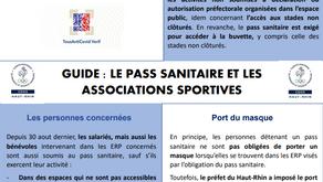 Le pass sanitaire au sein du milieu sportif : mode d'emploi