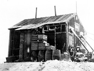 Preservation and restoration of historic huts in Antarctica.