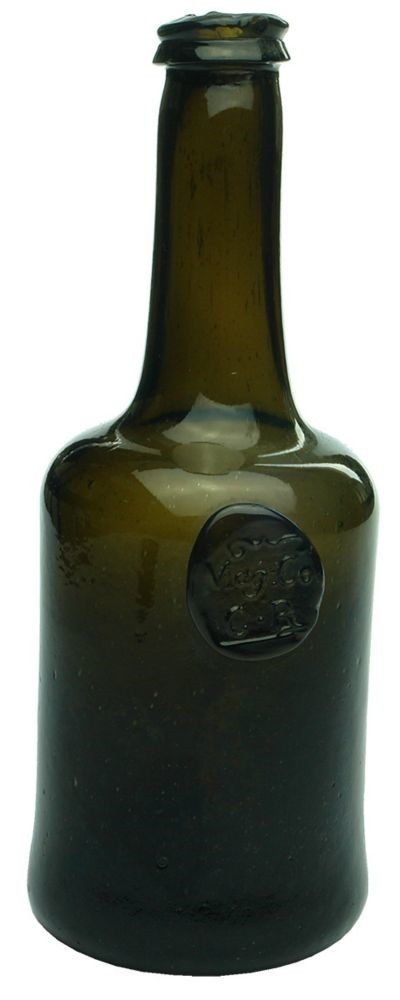 1740 Magdalene College winebottle